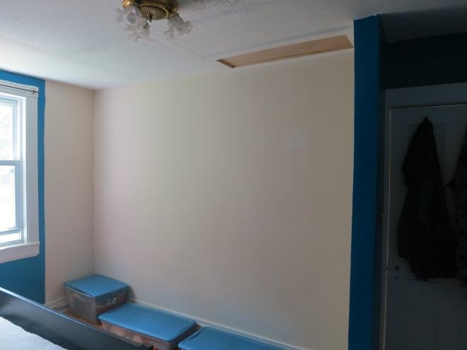 Master bedroom - future closet
