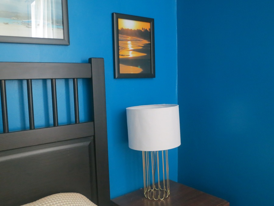 Master bedroom - nightstand lamp