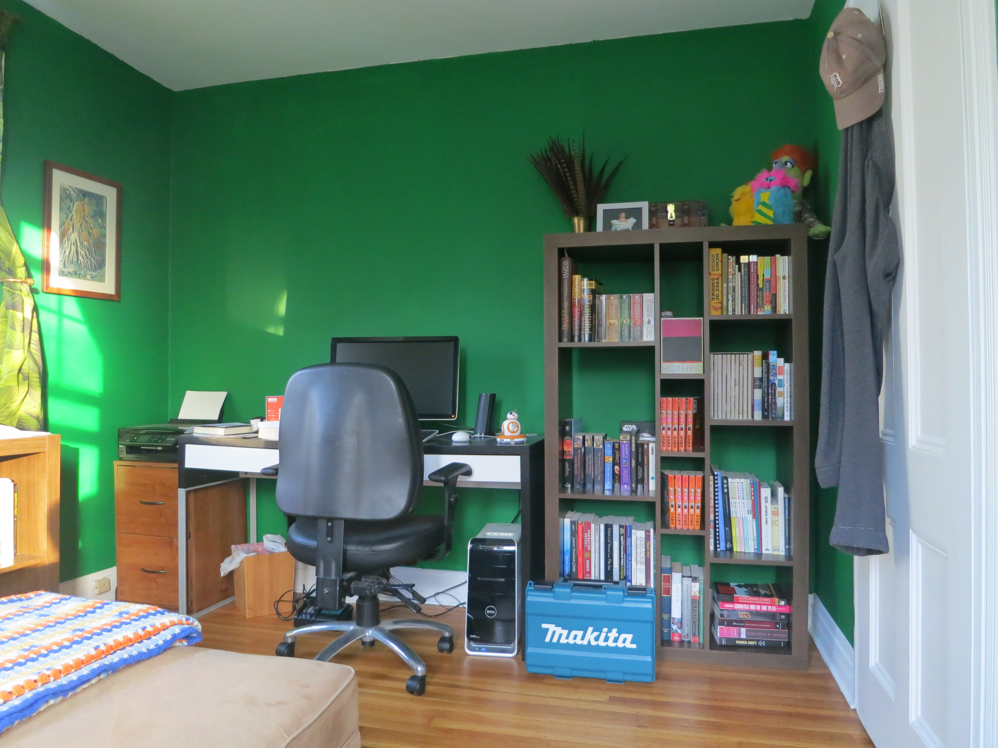 office - bookshelves