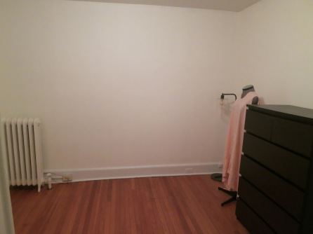 The room right before we turned it into the flex guest room.
